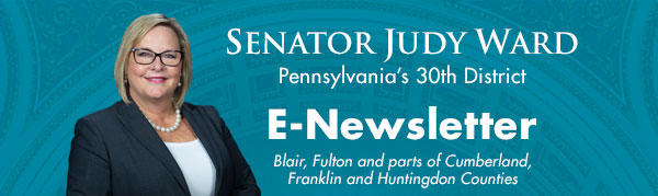 Senator Judy Ward E-Newsletter